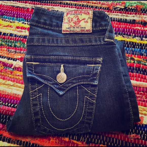 True Religion Denim - True Religion women skinny jeans size 28x32